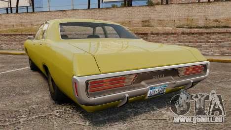 Dodge Polara 1971 für GTA 4 hinten links Ansicht