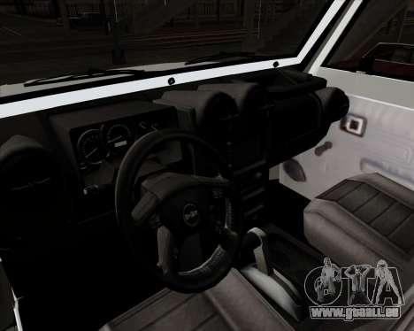 Toyota Land Cruiser Machito 2009 LX für GTA San Andreas Rückansicht