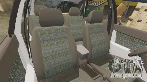 VAZ-Lada 2170 Priora pour GTA 4 est une vue de dessous