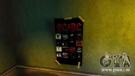 De nouvelles affiches dans l'appartement du Roma pour GTA 4 sixième écran