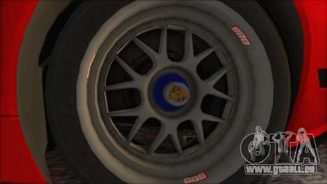 Porsche 911 GT3 RSR pour GTA San Andreas vue de droite