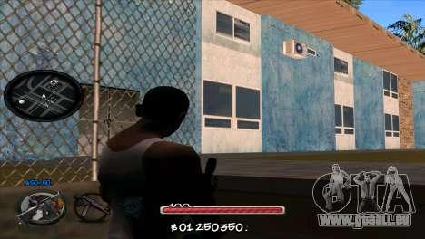 C-HUD by Jayson Wallace pour GTA San Andreas deuxième écran