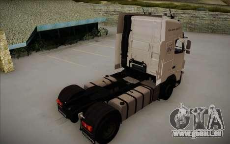 Volvo FH12 pour GTA San Andreas laissé vue