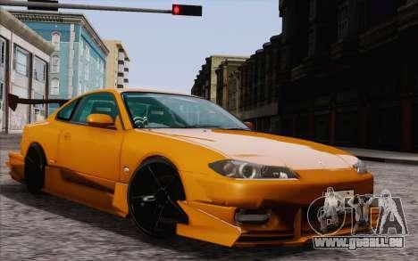 Nissan Silvia S15 GT Uras pour GTA San Andreas laissé vue