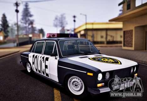 VAZ 2106 Polizei für GTA San Andreas