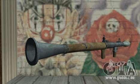 RPG pour GTA San Andreas deuxième écran