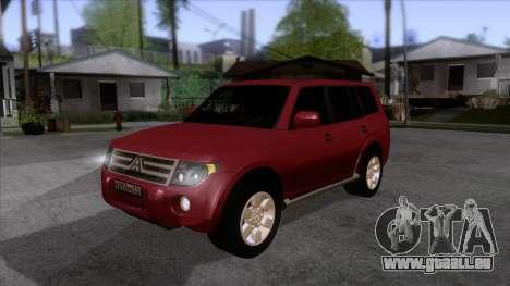 Mitsubishii Pajero IV pour GTA San Andreas