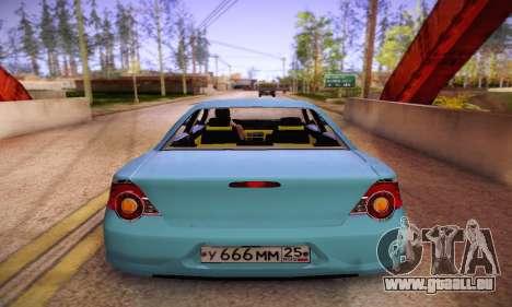 Volga Siber 2.5 AT Restyling pour GTA San Andreas vue de droite