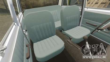 VAZ-Lada 2101 URSS pour GTA 4 est une vue de dessous
