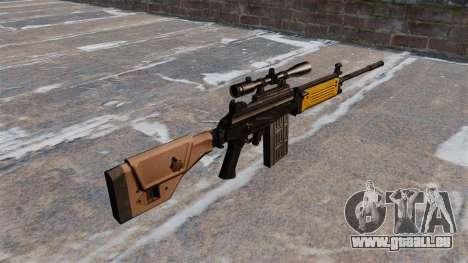 IMI Galil-Sturmgewehr für GTA 4 Sekunden Bildschirm