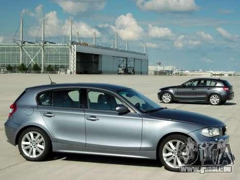 Les écrans de démarrage BMW 120i pour GTA 4 sixième écran