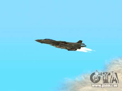 F-14 LQ für GTA San Andreas Innenansicht