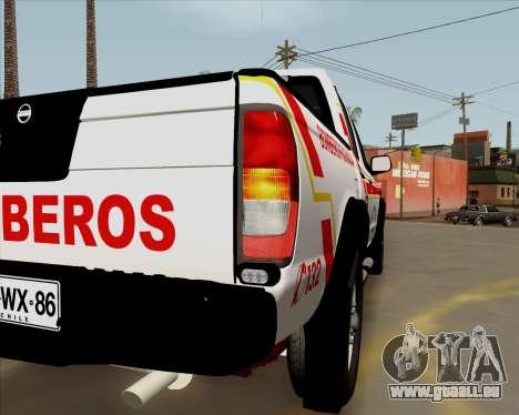 Nissan Terrano pour GTA San Andreas vue intérieure