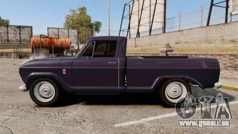 Chevrolet C10 1974 pour GTA 4 est une gauche