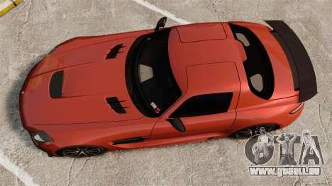 Mercedes-Benz SLS 2014 AMG Black Series pour GTA 4 est un droit