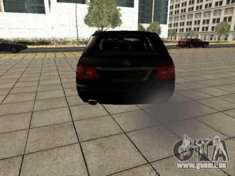 Mercedes-Benz w212 E-class Estate pour GTA San Andreas vue de droite