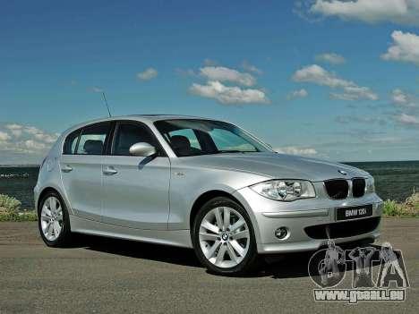 Les écrans de démarrage BMW 120i pour GTA 4 cinquième écran