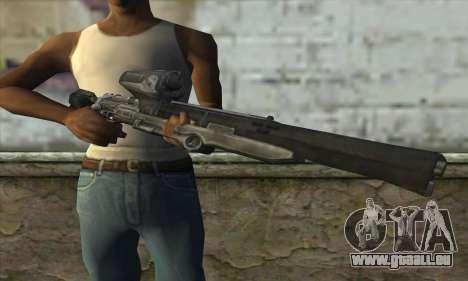 Fusil De Sniper pour GTA San Andreas troisième écran