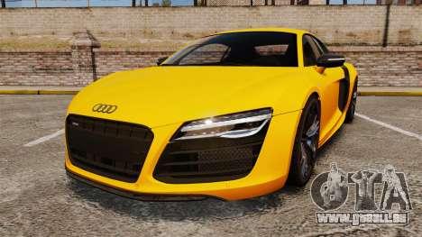Audi R8 V10 plus Coupe 2014 [EPM] [Update] pour GTA 4