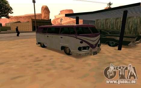 GTA V Surfer Rusty für GTA San Andreas