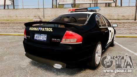 Ford BF Falcon XR6 Turbo LCHP [ELS] für GTA 4 hinten links Ansicht