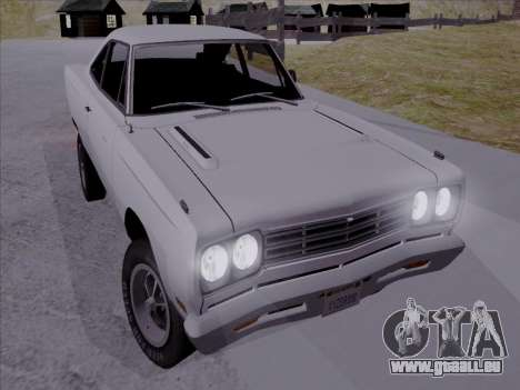 Plymouth Road Runner 383 1969 pour GTA San Andreas