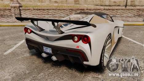 GTA V Grotti Turismo R pour GTA 4 Vue arrière de la gauche