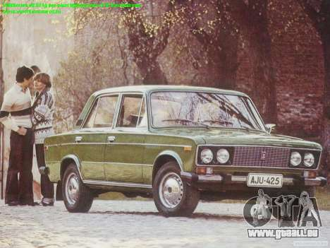 Boot-screens sowjetischen Autos für GTA San Andreas zweiten Screenshot
