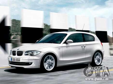 Les écrans de démarrage BMW 116i pour GTA 4