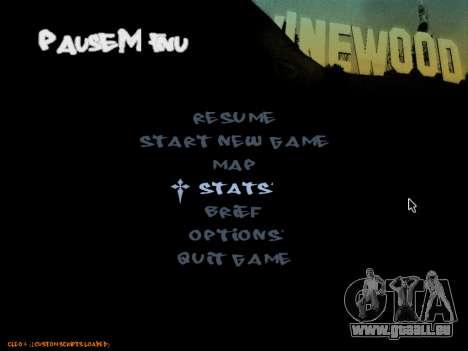 C-HUD Tawer pour GTA San Andreas quatrième écran
