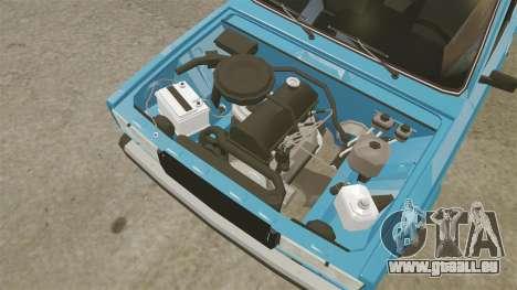 VAZ-2107 pour GTA 4 Vue arrière