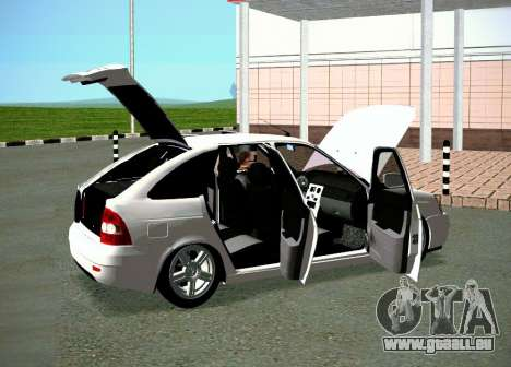 Les VASES 2172 pour GTA San Andreas laissé vue