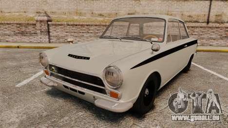 Lotus Cortina 1963 pour GTA 4