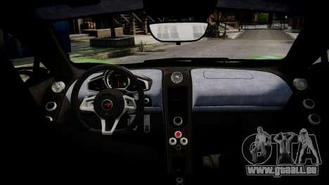 McLaren MP4-12C für GTA 4 obere Ansicht