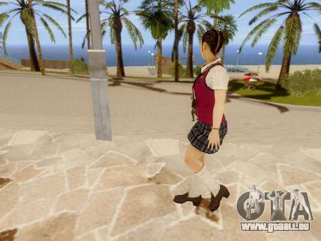 Hanako pour GTA San Andreas septième écran