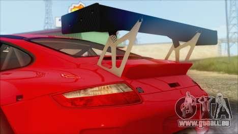 Porsche 911 GT3 RSR für GTA San Andreas zurück linke Ansicht
