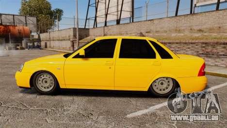 VAZ-Lada 2170 Priora pour GTA 4 est une gauche