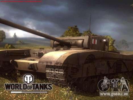 Boot-screen World of Tanks für GTA San Andreas dritten Screenshot