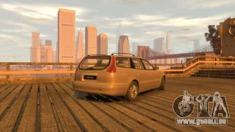 Daewoo Leganza Wagon für GTA 4 hinten links Ansicht