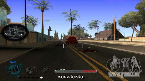 C-HUD by Jayson Wallace für GTA San Andreas dritten Screenshot