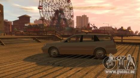 Daewoo Leganza Wagon für GTA 4 Rückansicht