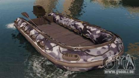 US Navy SEAL Zodiac pour GTA 4