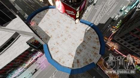 Open arena für den Kampf gegen Fahrzeuge für GTA 4