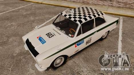 Lotus Cortina 1963 für GTA 4 Unteransicht