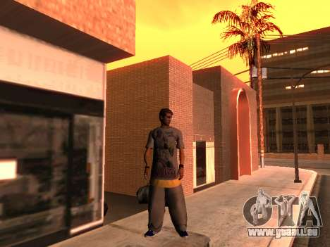 La Peau Traceur pour GTA San Andreas