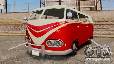 GTA V Burgerfahrzeug Surfer pour GTA 4