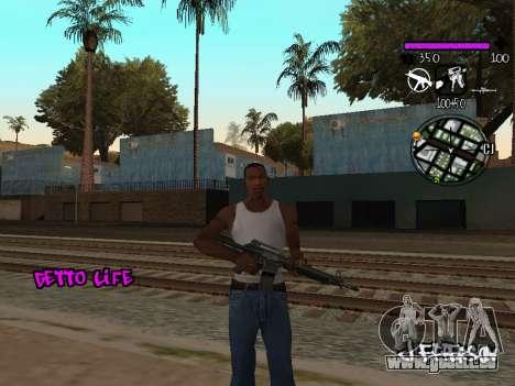 C-HUD Ghetto Life für GTA San Andreas