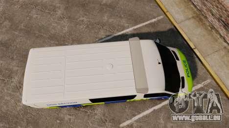 Mercedes-Benz Sprinter 211 CDI Police [ELS] pour GTA 4 est un droit