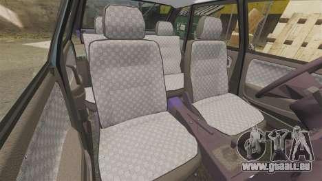VAZ-2114 Samara-2 für GTA 4 obere Ansicht