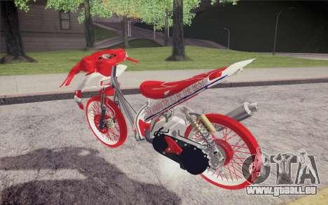 Vario Drag version JKT48 für GTA San Andreas linke Ansicht
